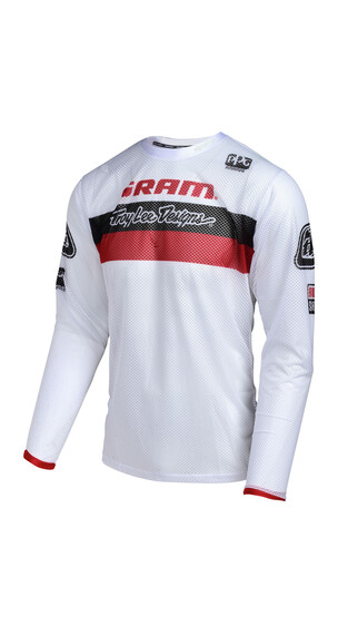 Troy Lee Designs Sprint Air SRAM TLD - Maillot manches longues - Racing rouge/blanc